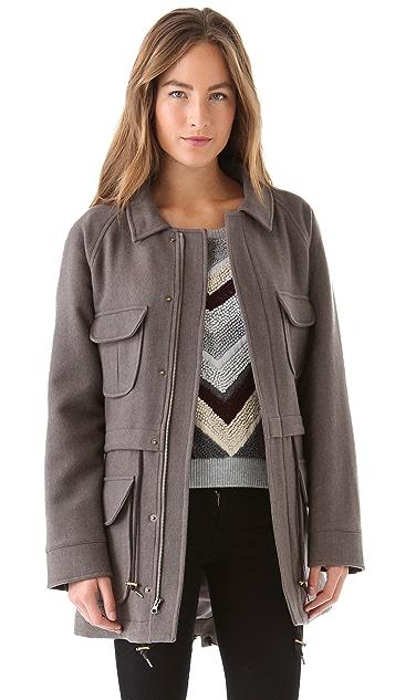 Pendleton, The Portland Collection Anorak with Detachable Hood