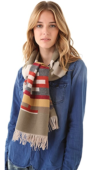 Pendleton, The Portland Collection Fringed Scarf
