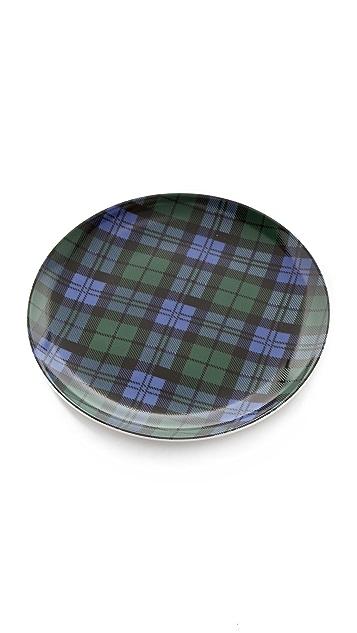 Pendleton, The Portland Collection Tartan Plate Set