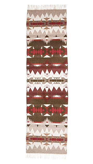 Pendleton, The Portland Collection Pattern Friged Scarf
