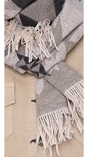 Pendleton, The Portland Collection Sonora Fringe Scarf