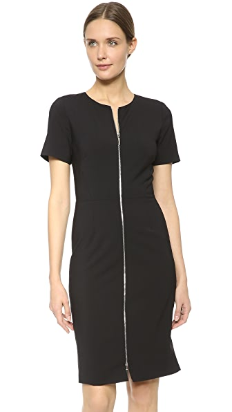 Prabal Gurung Short Sleeve Dress - Black
