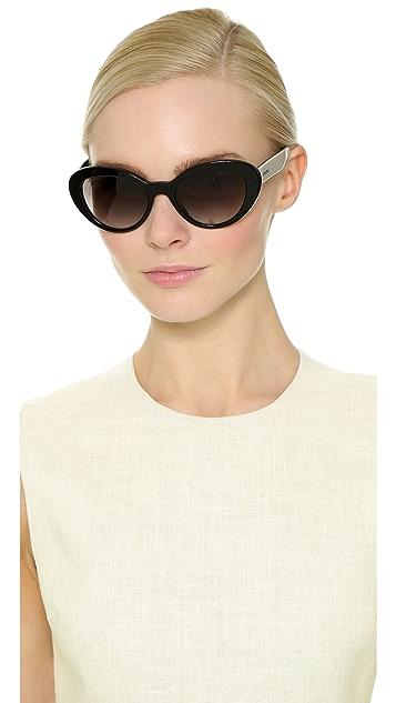 Prada Oval Sunglasses