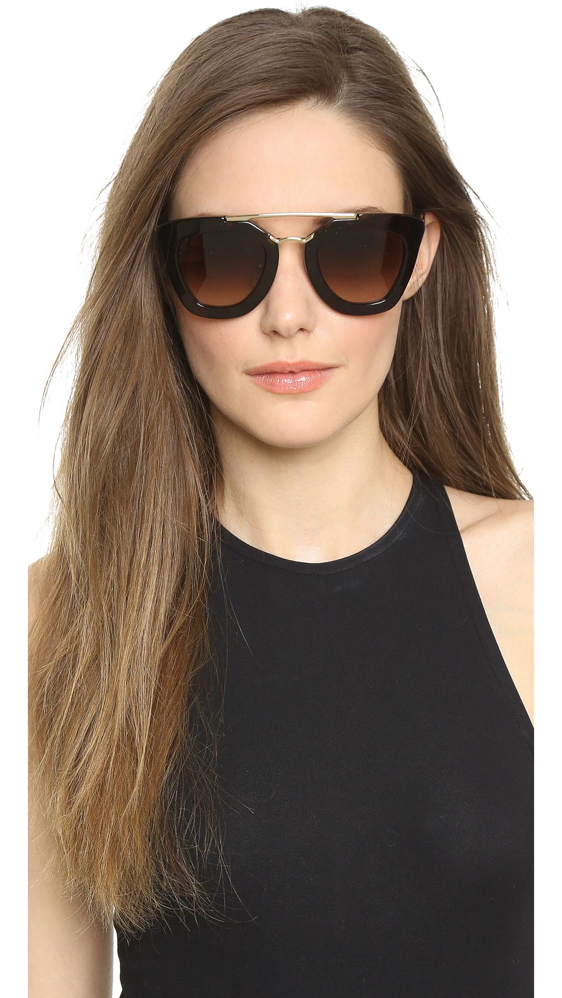 b859152f02a ... sale prada thick frame sunglasses shopbop 69bb3 d60e1