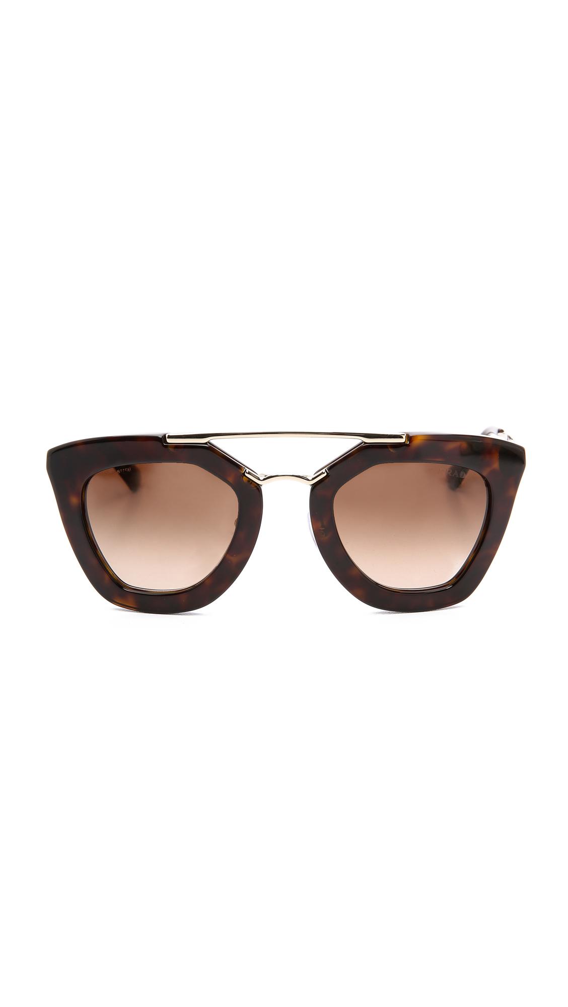 Prada Thick Frame Sunglasses | SHOPBOP
