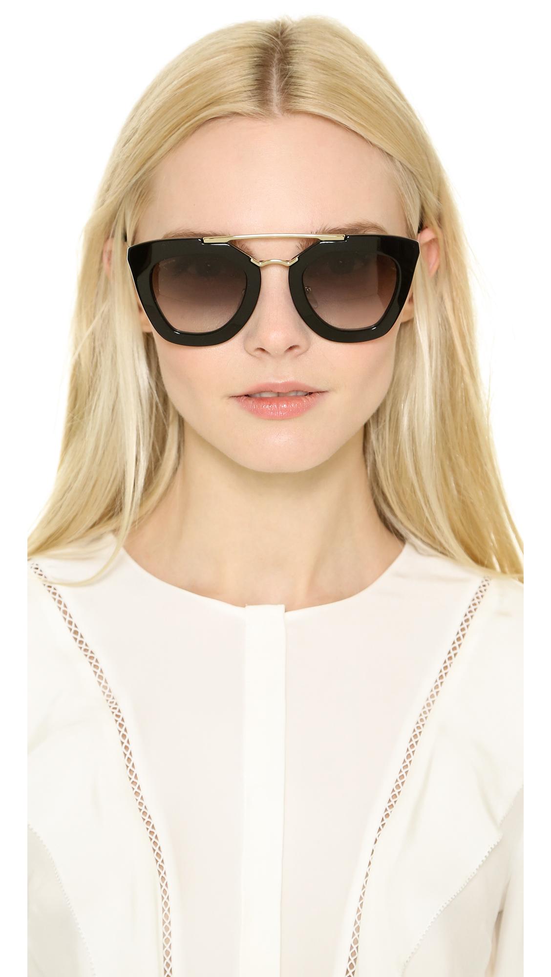 df7266edfa3 Prada Thick Frame Sunglasses