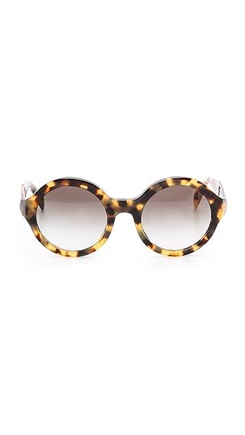 Prada Round Sunglasses