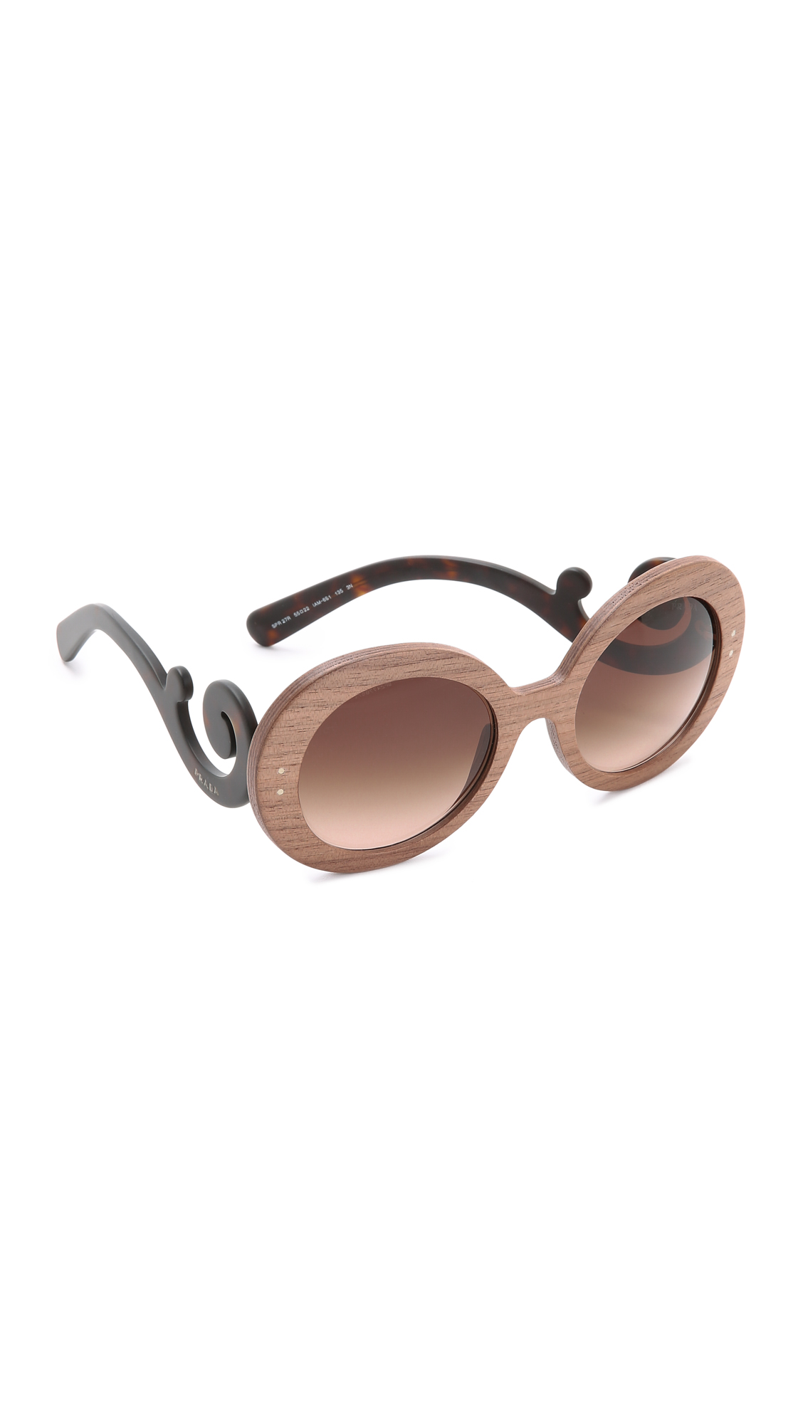 ffa53a9450 Prada Wood Sunglasses