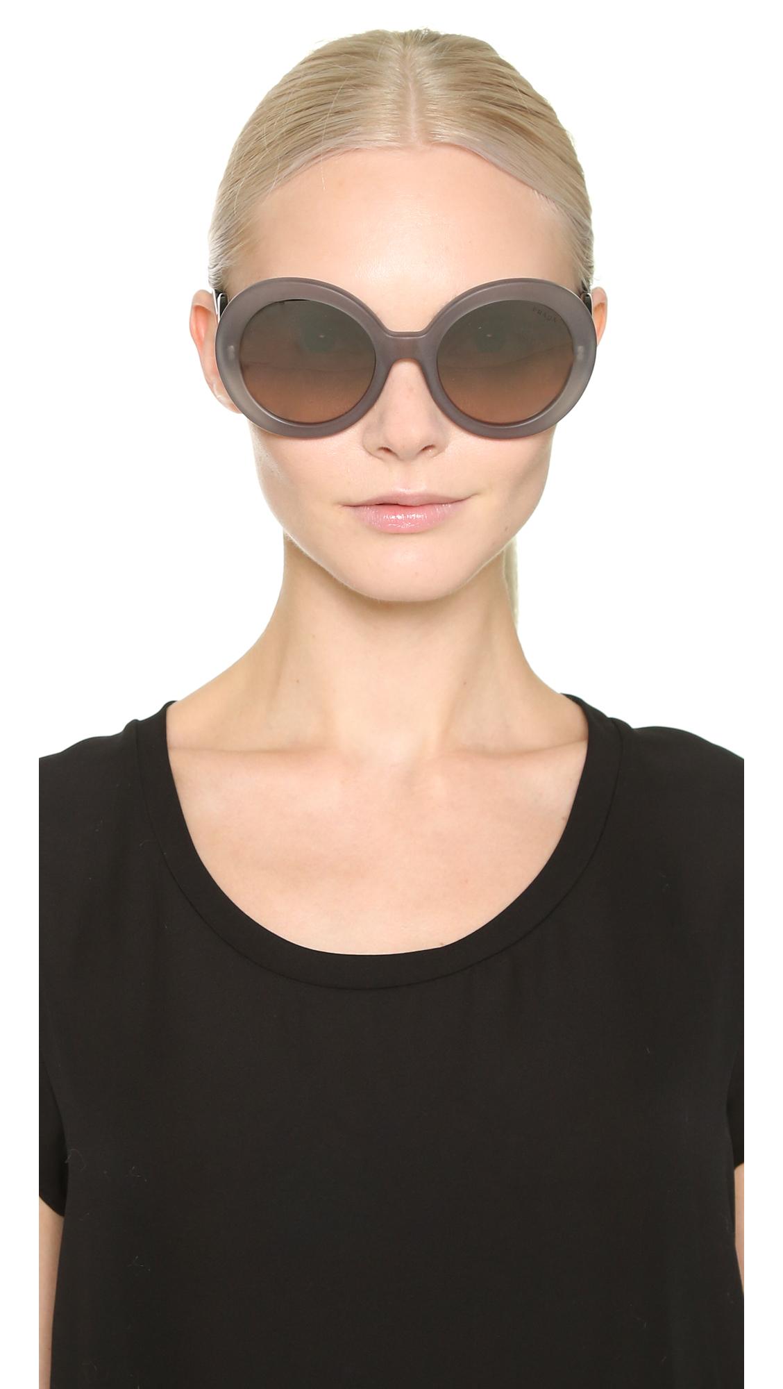 3fe7475cb3aa Prada Minimal Baroque Sunglasses