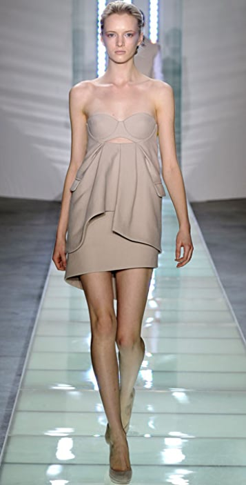 Preen By Thornton Bregazzi Petal Dress