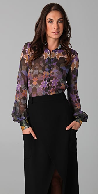 Preen By Thornton Bregazzi Box Bell Blouse