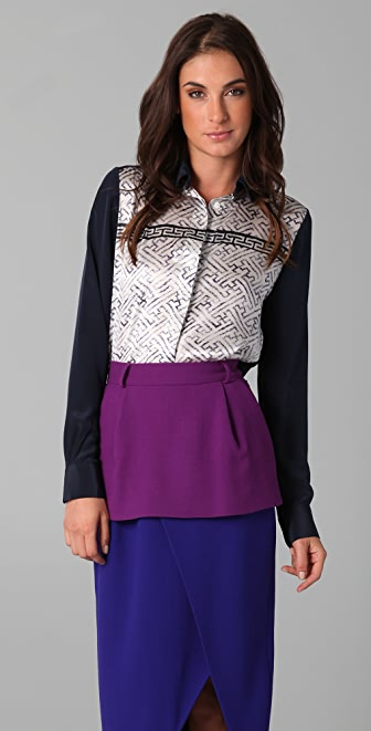 Preen By Thornton Bregazzi Boarder Shirt