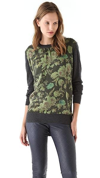 Preen By Thornton Bregazzi Preen Line Sweater with Panel