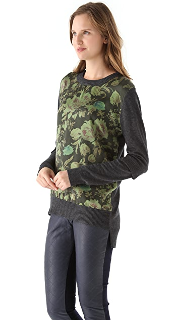Preen By Thornton Bregazzi Preen Line Sweater with Panel