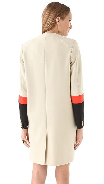 Preen By Thornton Bregazzi Zora Coat with Fur
