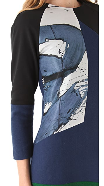Preen By Thornton Bregazzi Splash Dress