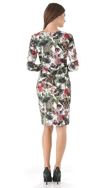 Preen By Thornton Bregazzi Print Jersey Dress