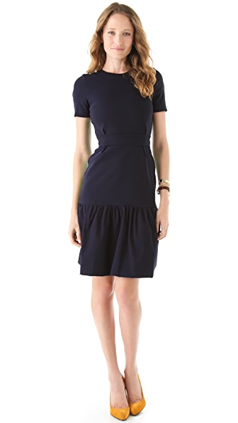 Preen By Thornton Bregazzi Two Tone Basset Dress