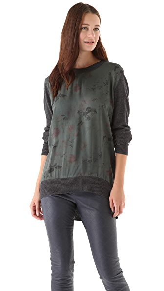 Preen By Thornton Bregazzi Preen Line Sweater with Silk