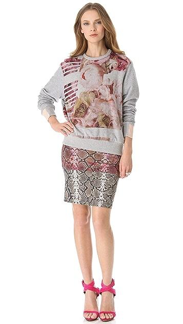 Preen By Thornton Bregazzi Peony Sweatshirt