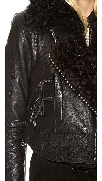 Preen By Thornton Bregazzi Preen Line Wilmer Biker Jacket