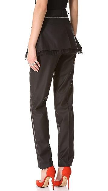 Preen By Thornton Bregazzi Tin Pants with Flap