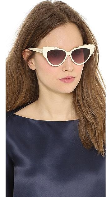 Preen By Thornton Bregazzi Phillipa Cat Eye Sunglasses