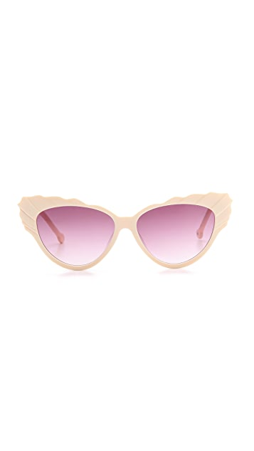 Preen By Thornton Bregazzi Phillipa Cat Eye Sunglasses