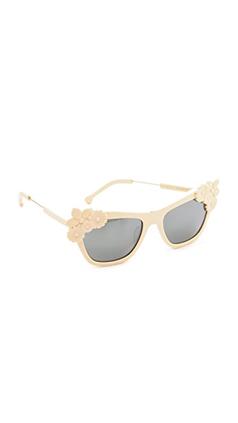 Preen By Thornton Bregazzi Bouquet Sunglasses