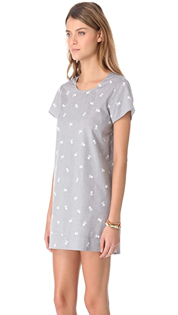 Pret-a-Surf Cover Up Dress with Back Zip