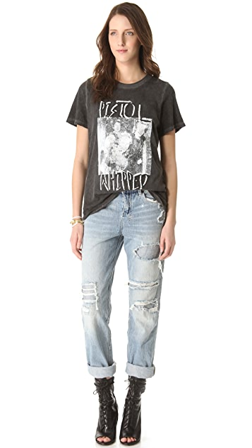 Prince Peter Pistol Whipped Distressed Tee