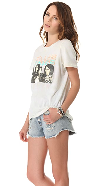 Prince Peter Iggy & the Stooges Distressed Tee
