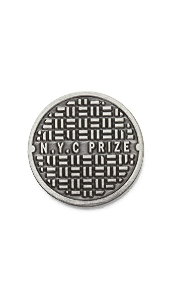 Prize Pins Sewer Rats Pin