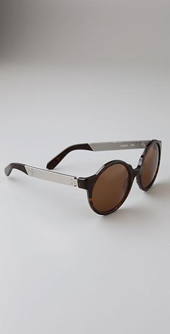 Proenza Schouler Round Sunglasses