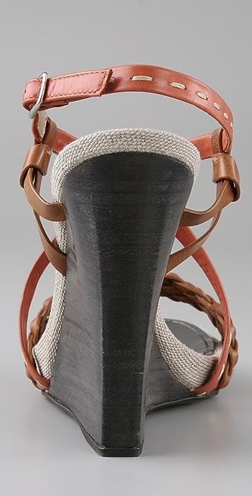 Proenza Schouler Multi Wedge Sandals