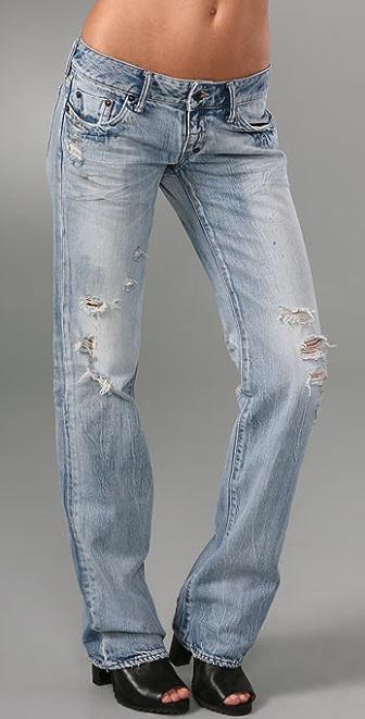 PRPS Japan Firebird Straight Leg Jeans