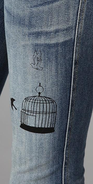 PRPS Japan Set Me Free Skinny Jeans