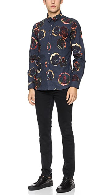 PS by Paul Smith Floral Print Shirt