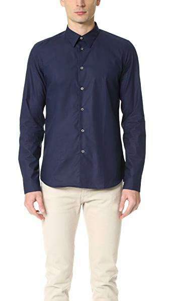 PS by Paul Smith Slim Fit Contrast Cuff Shirt
