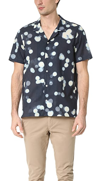 PS by Paul Smith Blurry Dot Short Sleeve Shirt