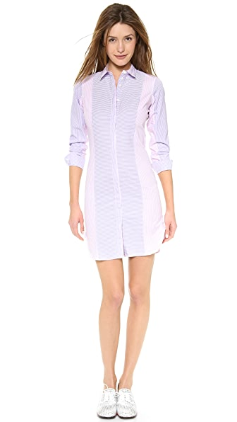 Paul Smith Black Label Stripe Shirtdress