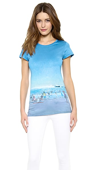 Paul Smith Black Label Beach Print Tee