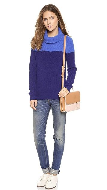 Paul Smith Black Label Angora Bi-Color Sweater