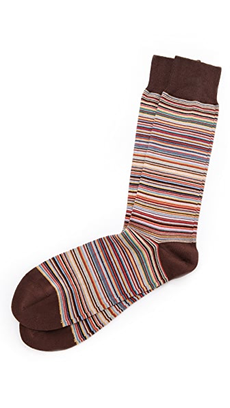Paul Smith Fine Multistripe Socks