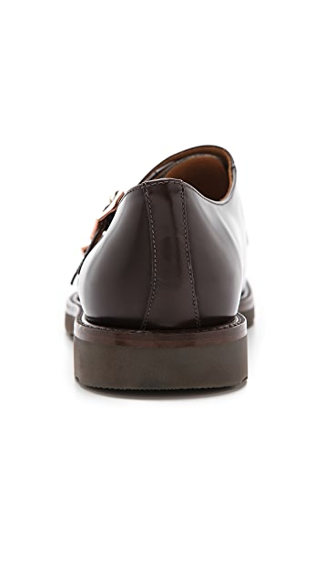 Paul Smith Pitt Monk Strap Oxfords