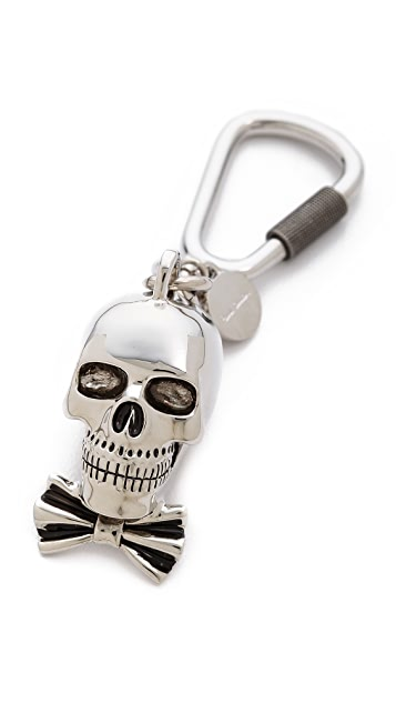 Paul Smith Dressed Skull Key Ring