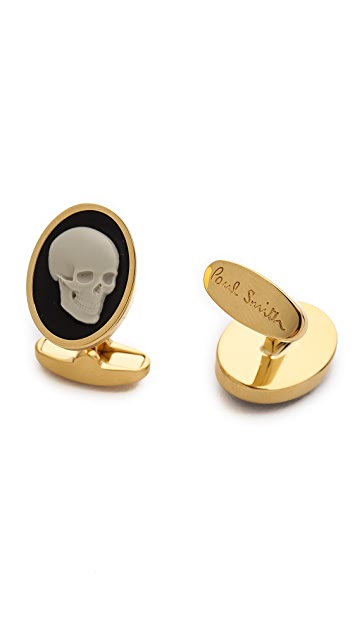 Paul Smith Skull Cameo Cufflinks