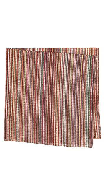 Paul Smith Multi Puppytooth Pocket Square