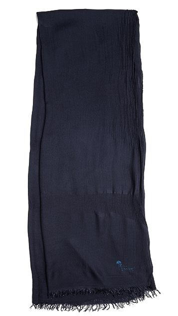 Paul Smith Modal Garment Dye Scarf