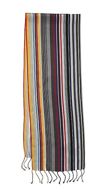 Paul Smith Skinny Stripe Scarf